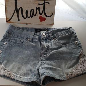 XOXO girls shorts